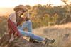 1M8A8975 (mozzie71) Tags: teen 13yo auusie star dancer model actress sunset summer sun glow golden cute cowgirl cowboy hat