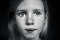 Another eyes session 1 (PascallacsaP) Tags: portrait girl eyes closeup blackandwhite bw captureonepro mitakon zhongyimitakonspeedmaster35mmf095markii f095 monochrome daughter young noir