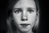 Another eyes session 1 (PascallacsaP) Tags: portrait girl eyes closeup blackandwhite bw captureonepro mitakon zhongyimitakonspeedmaster35mmf095markii f095 monochrome daughter young