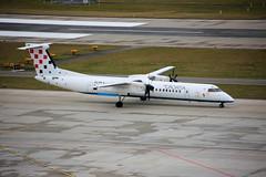 9A-CQE Zurich 23/01/18 (Andy Vass Aviation) Tags: zurich dhc8 9acqe croatiaairlines