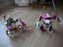Klerikal Battlegroup (Revamp) (Śląski Hutas) Tags: lego bricks moc robots drones church gold scifi futuristic