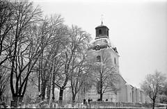 Gammalt vykort No1 (cotnari73) Tags: smenasymbol lomo ussr ilford d76 hp5 t43 sandviken sweden kungsgården kyrka
