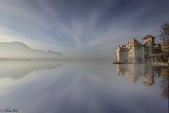 '''''abandoned```` (AlbertMu7) Tags: naturaleza suiza paisaje paysage abandoned cielo sky montaña lake lago
