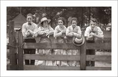 Portrait 075-32 (Steve Given) Tags: socialhistory familyhistory group girls guys farm