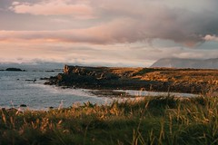 Reminisce (desomnis) Tags: iceland island sunsetlight sunset landscapephotography landscape landschaft traveling travelphotography travel ocean northerneurope westiceland clouds mountains desomnis canon6d canoneos6d 6d