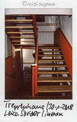 Treppenhaus # 009 # Leica SOFORT instax mini color - 2018 (irisisopen ☼the seeker☀︎) Tags: leica sofort fujifilm fuji instax mini analog color irisisopen farbe