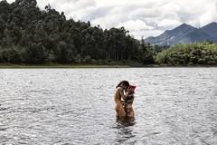 Dejarlo todo en la huida, estar desnudos de todo 🍃 (Stefania Avila) Tags: nude nudeart woods water river neusa landscape mountains boudoir tattoos inkmodels
