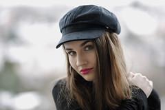 Outdoor portrait (piotr_szymanek) Tags: marcelina portrait outdoor face lips eyes eyesoncamera longhair younh woman girl skinny 1k 5k 10k 20f 50f balcony 100f marcelinab 20k 30k 40k closeup 50k