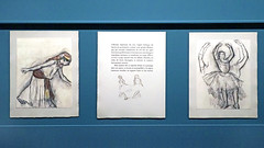 "Extraits de l'ouvrage ""Degas, Danse, Dessin"" (Musée d'Orsay, Paris) (dalbera) Tags: dalbera muséedorsay paris france danseuses edgardegas dessins paulvalery"