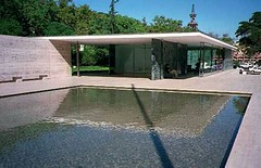 Barcelona Pavillion (Heaven`s Gate (John)) Tags: barcelona pavilion spain icon modern architecture marble water reflecting pool ludwigmiesvanderrohe mies johndalkin heavensgatejohn glass steel