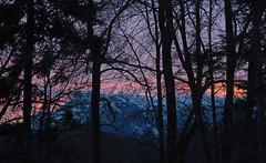 Abendlicher Blick zum Untersberg (Gertraud-Magdalena) Tags: winter jänner untersberg abendhimmel