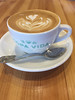 Best coffee in town (Karon Elliott Edleson) Tags: coffee drinks 7dwf crazytuesdaytheme latte foam cup beverage caffeine makemesmile