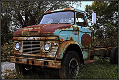 Flat Bed Ford (2bmolar) Tags: htt ford truck rust