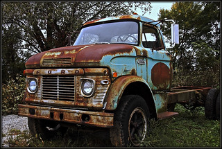 Flat Bed Ford