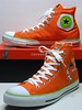 Dr. Suess (Green Eggs & Ham) - Flame Orange & Green Eggs Green Hi 128988C (hadley78) Tags: chucks cons converse collection ct chucktaylors chuck taylors taylor thatconverseguy top tops guinness worldrecord world record ripleys joshuamueller joshua mueller drseuss green eggs ham
