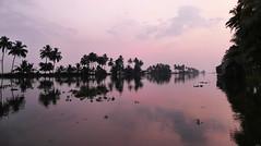 Backwaters, Dawn P1250919 (Phil @ Delfryn Design) Tags: india2018 kerala