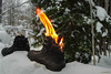 Viking on fire (MIKAEL82KARLSSON) Tags: sko känga viking shoe boots fire eld burn brinner sverige sweden dalarna grängesberg gränges bergslagen pentax k70 mikael82karlsson fun explore flickr