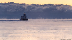 Damn Cold! (David C. McCormack) Tags: eos6d environment harbor ice january lakefront lakemichigan midwest milwaukee outdoor sunrise wisconsin water winter weather frozen