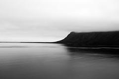 Islande, côte Nord (simoncini.lea) Tags: black white landscape sea nature islande iceland north coast