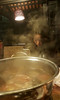 Steam heat (Roving I) Tags: girls waiting hotpot steam cooking restaurants bamboogarden dining pots heat danang vertical vietnam