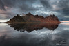 Dark reflection (Marco Calandra Photography) Tags: reflection clouds iceland mountain panoramic strokkur vestrahorn islanda is bay panorama stokksnes coast dark reflect sunset lagoon mirror adventure journey trip