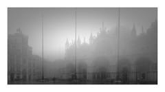 San Marco In Nebbia Forte (W.Utsch) Tags: venezia venice venedig nebel nebbia brume fog sanmarco longexposure bnw blackandwhite schwarzweis bianconero mysty