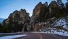 Profile view (Paul Domsten) Tags: mtrushmore rock mountain snow tree forest landscape pentax southdakota keystone winter