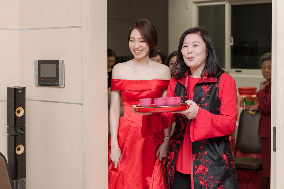 婚攝 高雄林皇宮 婚宴 時尚氣質新娘現身 S & R 011