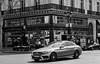 Mercedes Benz - Paris (WLopes Photographe) Tags: paris mercedes bw frança carro voiture preto branco