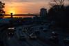 City at Sunset (Patja) Tags: bridge brooklyn fdrdrive lowereastside manhattan city cityscape corlearshook highway nightfall sunset traffic
