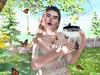 butterflies (Anja Mexicola) Tags: secondlife virtual games girl nature butterflies maitreya lelutka foxy anjamexicola light shadow letre amitomo murray
