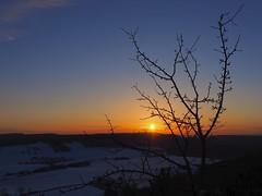 In 5 Minuten... (Meine Sicht auf diese Welt...) Tags: sonnenuntergang sun schnee stimmung landschaft blick view olympus zuiko 1442 blanke ngc himmel baum tree blue sky dieteröder klippen dieterode rüstungen schöne aussicht eichsfeld thüringen winter winterlandschaft frost kalt kälte sunset seasen goldener schnitt