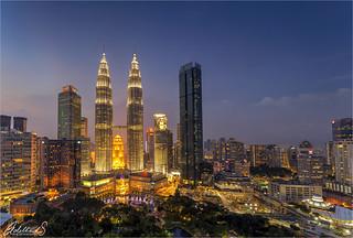 Kuala Lumpur in Blue