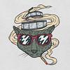 smoking cat (slava sashko) Tags: smoking blunt cat glasses film