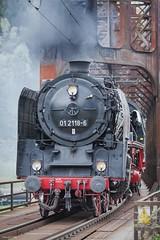 iron bridge (tamson66) Tags: locomotive steam dr trainspotting iron bridge railway railroad