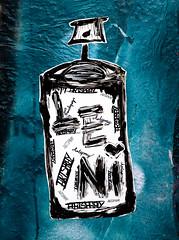 HH-Wheatpaste 3596 (cmdpirx) Tags: hamburg germany reclaim your city urban street art streetart artist kuenstler graffiti aerosol spray can paint piece painting drawing colour color farbe spraydose dose marker stift kreide chalk stencil schablone wall wand nikon d7100 paper pappe paste up pastup pastie wheatepaste wheatpaste pasted glue kleister kleber cement cutout