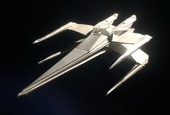 X-Wing Fighter origami High grade version (Matayado-titi) Tags: sugamata spaceship starship starwars space starfighter shusugamata origami xwing