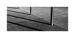 Barrier/Minimal (roylee21918) Tags: minimalist monochrome dxo shadow lines