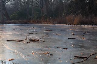 Noch mehr gefrorenes Gewässer (Eis)