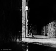moving between lights and shadows (alessandrochiolo) Tags: sicilia siciliabedda street streetphoto sicily streetphotografy shadow light luci luce ombre fujix30 fuji fujifilm biancoenero bw bn blackandwhite streetphotography strada