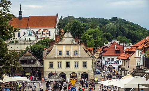 Franciscan monastery + market square - Kazimierz Dolny, Poland