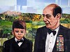 Grandfather and Grandson (Megan Coyle) Tags: portraiture portraitart portraitcollage people man boy grandfather grandson art collage collageart paperart papercollage magazinecollage illustration paintingwithpaper coylecollage megancoyle