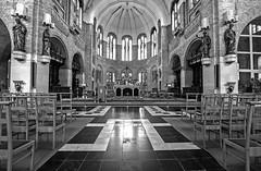 DSC_7541_ Eglise Saints-Pierre et Paul de Warneton (yves62160) Tags: edifices religieux eglise lys warneton belgique monochrome
