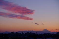 Sunset (Bill Morgan) Tags: fujifilm fuji xt1 xf18135 sky mtfuji tokyo evening sunset