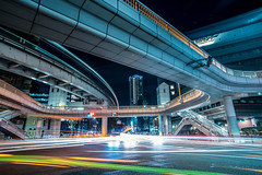 Night scape (ogizooo) Tags: nightphoto nightscape janction lighttrail