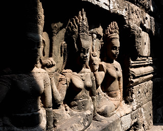 Angkor   |  Terrace of the Leper King