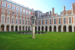 Fountain Court (zawtowers) Tags: hampton court palace east molesey surrey henry viii historic royal residence saturday february 17th sunny dry visit fountain square green columns water feature
