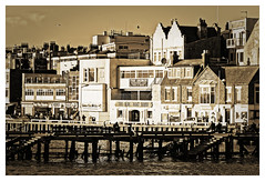The Olde Boat House (Myrialejean) Tags: olde boat house harbour bridlington eastriding eastcoast yorkshire sea seaside coast buildings architecture