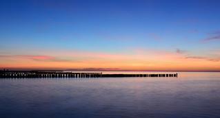 Sonnenuntergang in Ahrenshoop