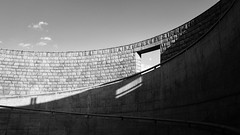 Round (lukemarkof) Tags: leica view style 28mm depth challenging interest fun shadow funky travel leicaq classic play art black exposure japan special teamyoungmarkof exotic dark awaji architecture yumebutai design tadaoando
